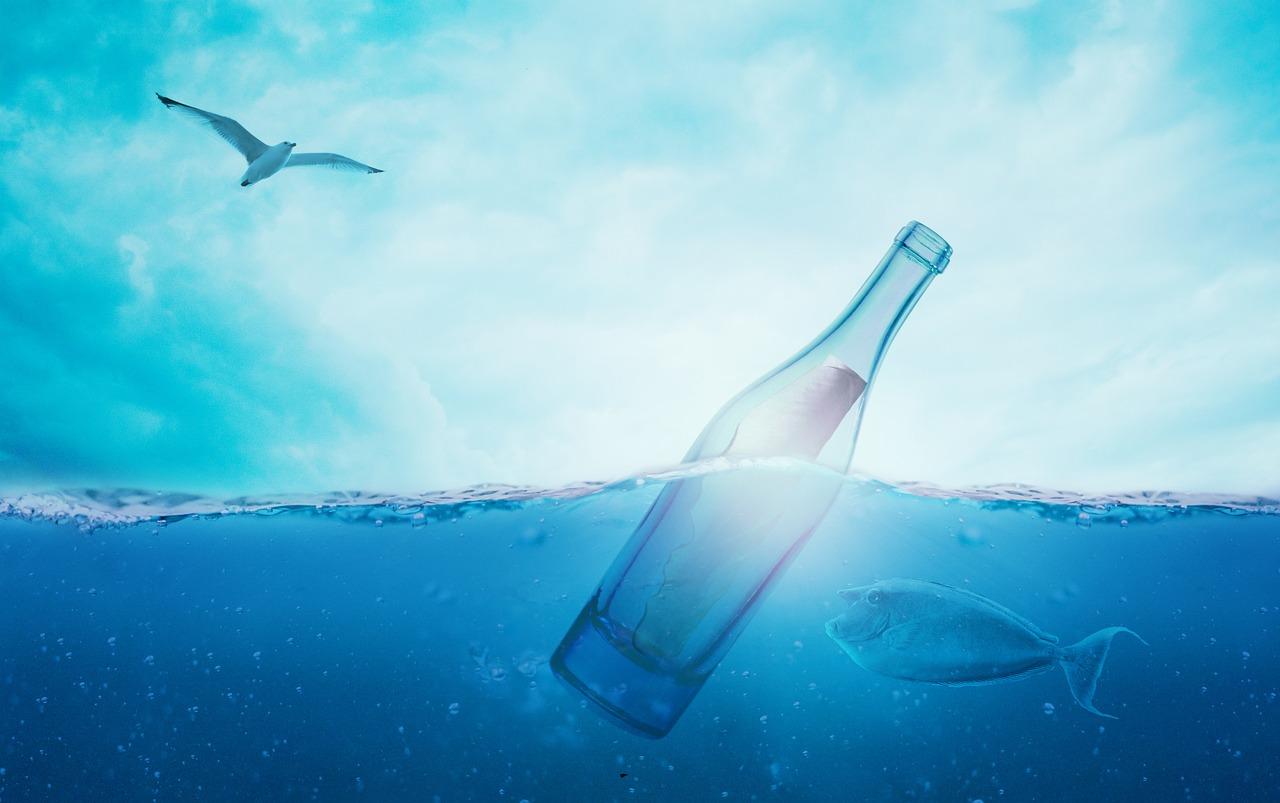 Okyanustaki mesaj şişesi